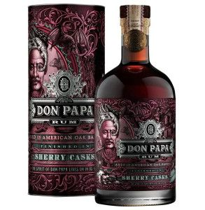Rum Don Papa invecchiato in botti ex-sherry