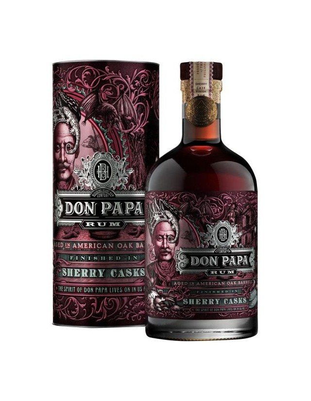 Rum Don Papa invecchiato in botti ex-sherry