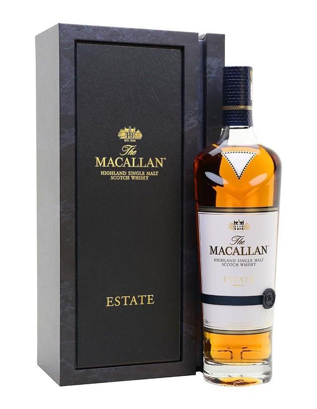 Macallan Estate single malt whisky