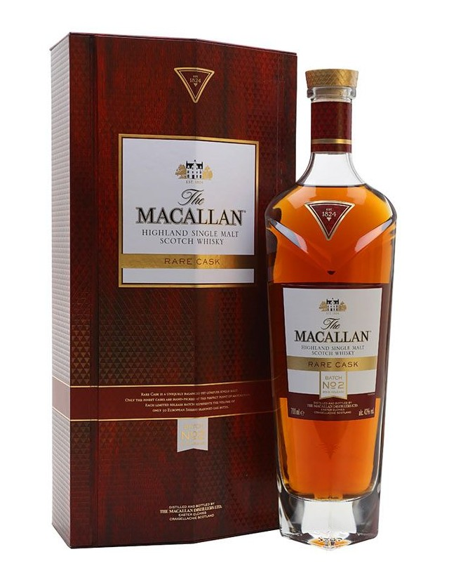 Whisky Single Malt Macallan Rare Cask