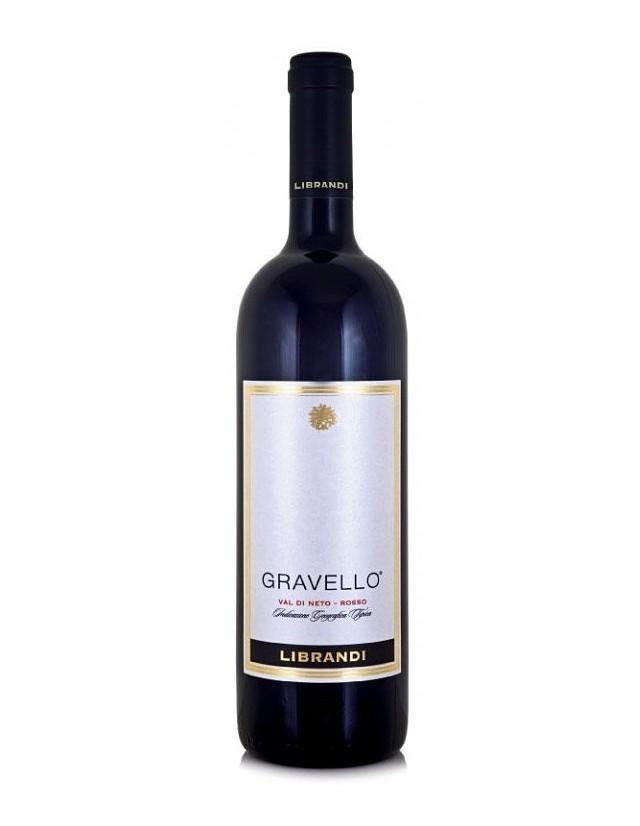 Vino rosso Gravello Librandi igt Val di Neto