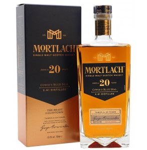 Mortlach 20 years old scotch whisky