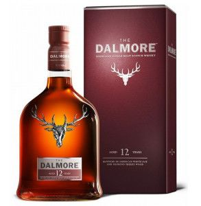 Dalmore 12 years old scotch whisky