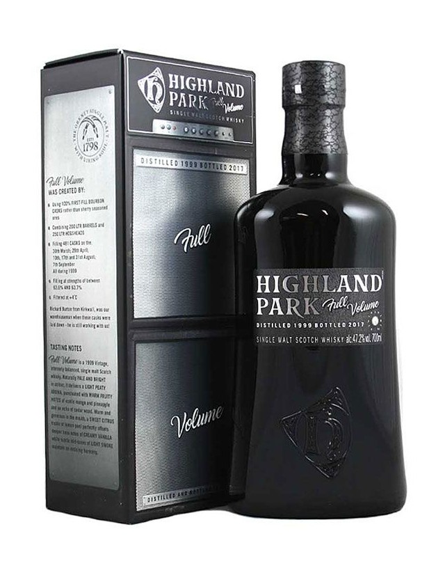 Full Volume Highland Park single malt whisky