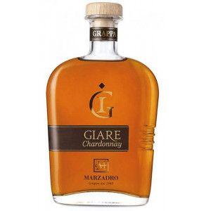 Grappa Le Giare Chardonnay distilleria Marzadro
