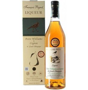 Liquore alle Pere Williams infuse in Cognac Peyrot