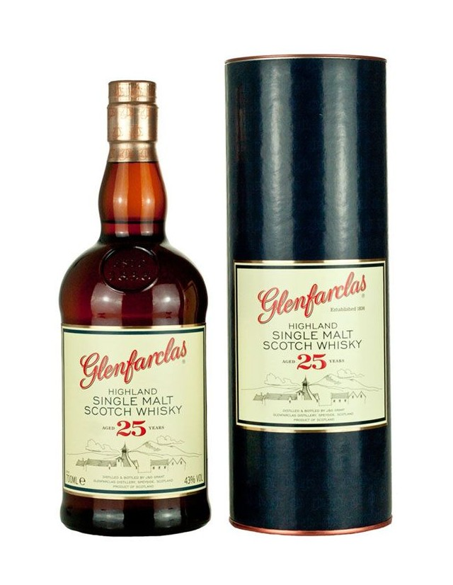 Highland Whisky Glenfarclas 25 years old