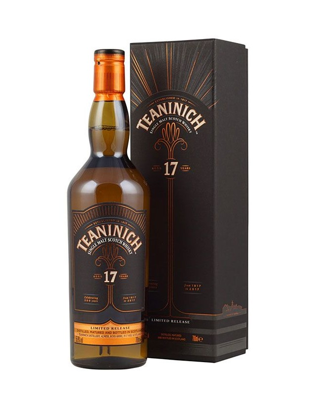 Teaninich 17 years old scotch whisky