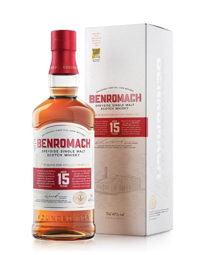 Whisky Benromach 15 single malt