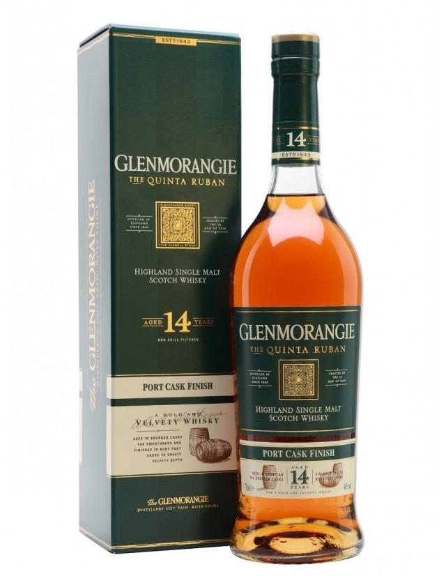 Glenmorangie quinta ruban 14 years old