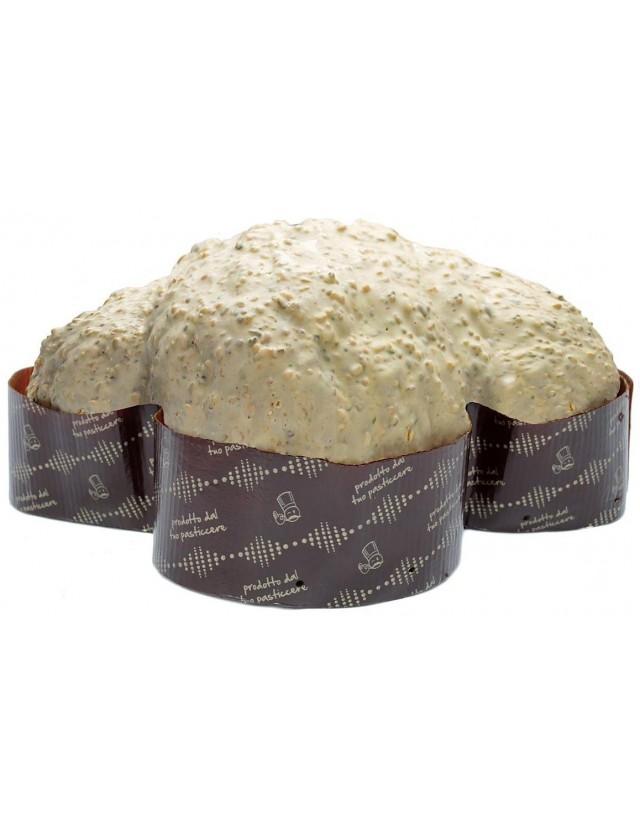 Colomba artigianale Amarene, Pistacchi e Limone Calciano