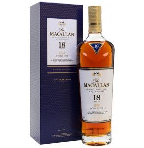 Macallan 18 double cask whisky
