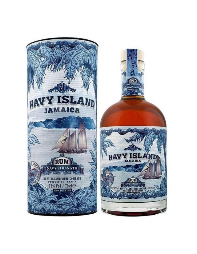 Image of Jamaica Rum Nay Strenght - Navy Island