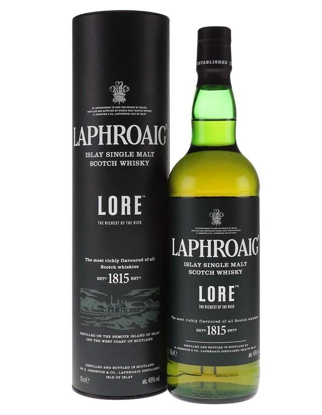 Laphroaig Lore scotch whisky