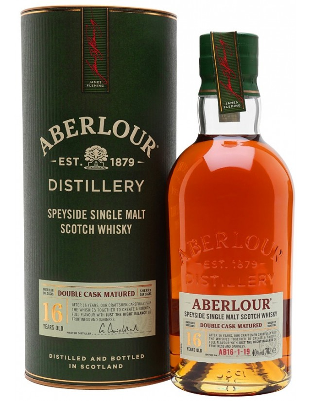 Aberlour 16 years old whisky
