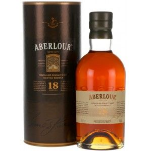 Aberlour 18 years old scotch whisky