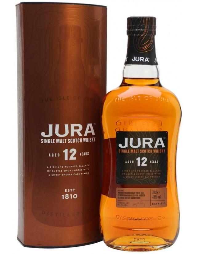 Jura 12 years old whisky