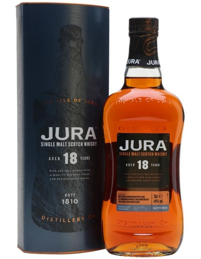 Jura 18 years old scotch whisky