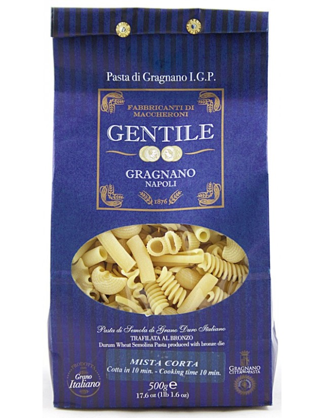 Pasta mista corta di Gragnano