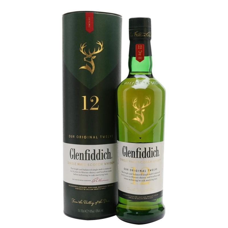 Glenfiddich 12 years old Scotch Whisky Single Malt
