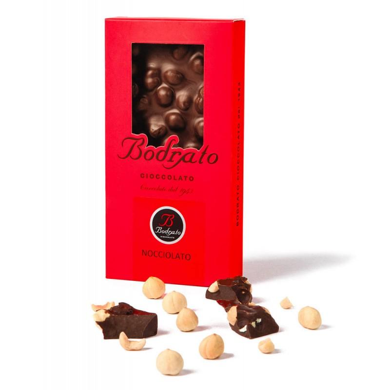 barretta cioccolato nocciolato Bodrato