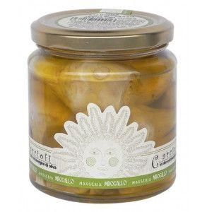 Carciofi in olio extravergine d'oliva