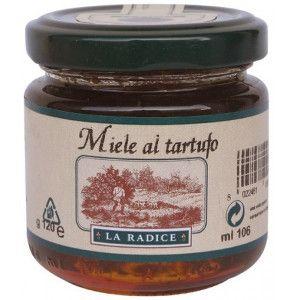 Miele al tartufo bianco per formaggi stagionati