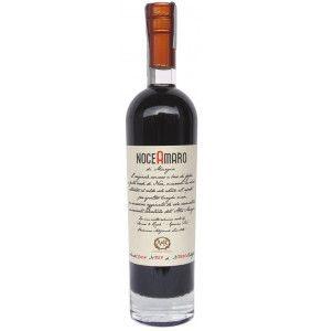 Amaro artigianale prodotto con malli di noce