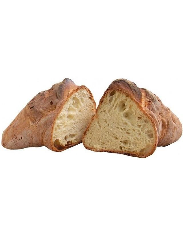 Pane di Matera affettato