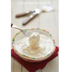 Straccetti di mozzarella fresca e panna