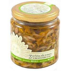 Zucchine a filetti in olio extravergine