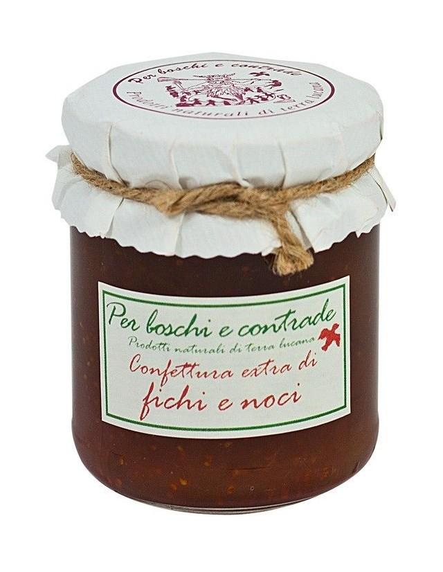 Confettura extra di Fichi con Noci 220 gr.