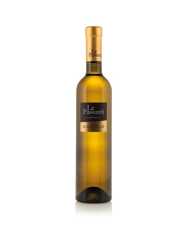 Vino bianco passito da uve fiano