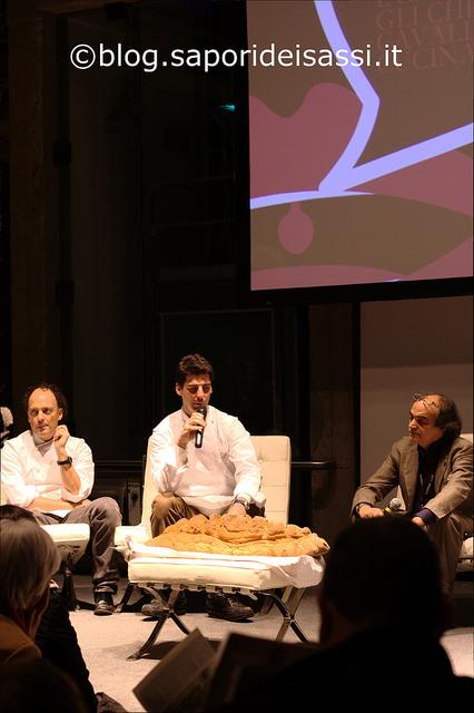 Pane di Matera con Moreno Cedroni, Massimiliano Alajmo, Davide Paolini