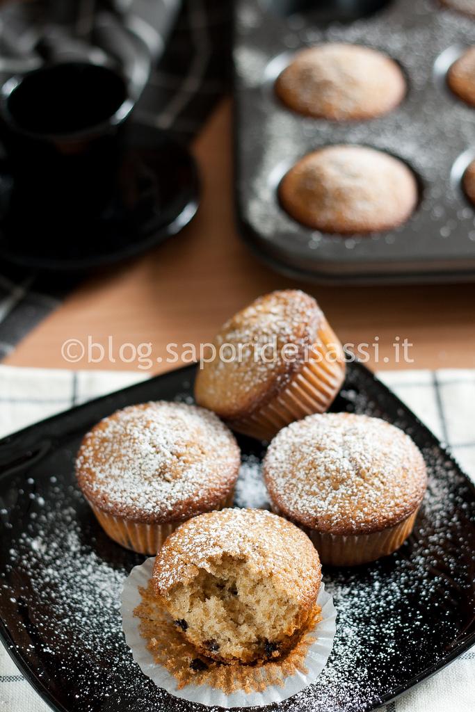 Muffins di grano arso
