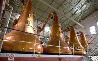 Alambicchi per la distillazione del whisky