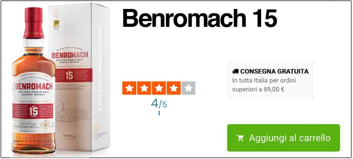 Benromach 15 online