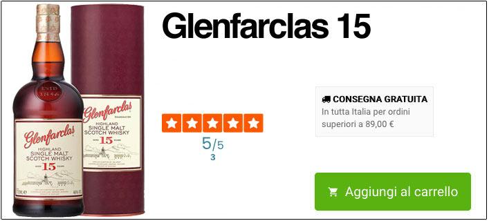 glenfarclas 15 anni online
