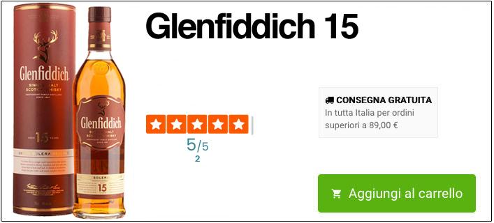 Glenfiddich 15 online