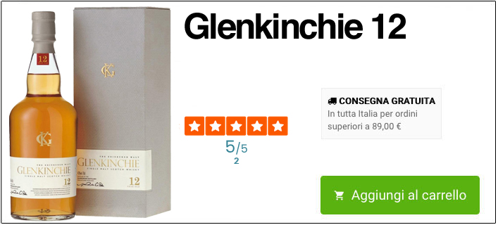 Glenkinchie 12 online