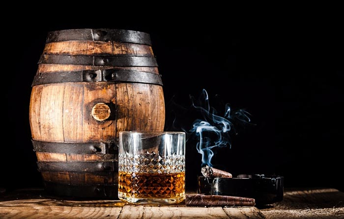 Rum e sigaro
