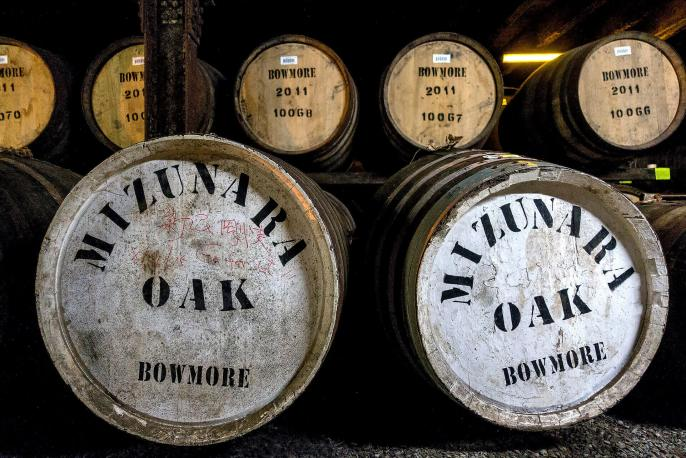 Botti da whisky Mizunara