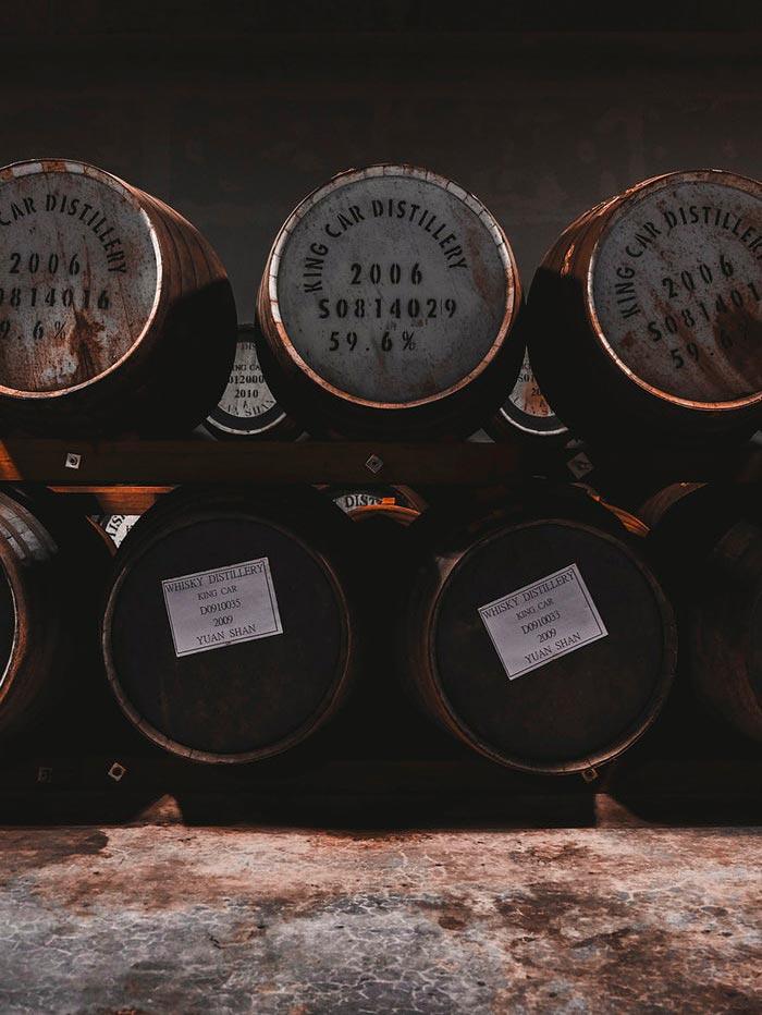 whisky da singole botti distilleria King Car