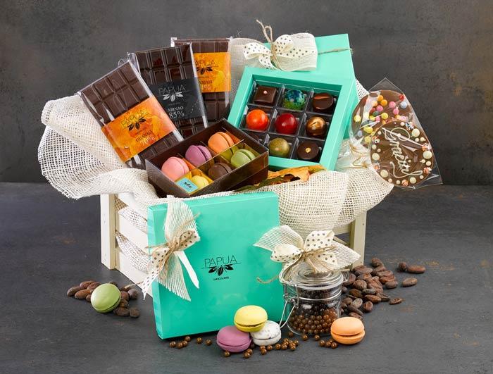 Cesto Natalizio al Cioccolato