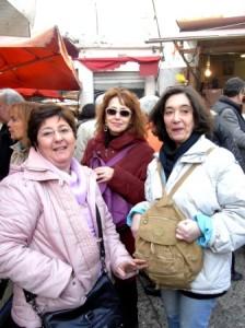 Cinzia, Mariella e Anita