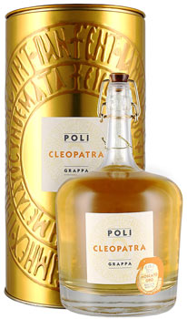 Grappa Cleopatra Oro Poli