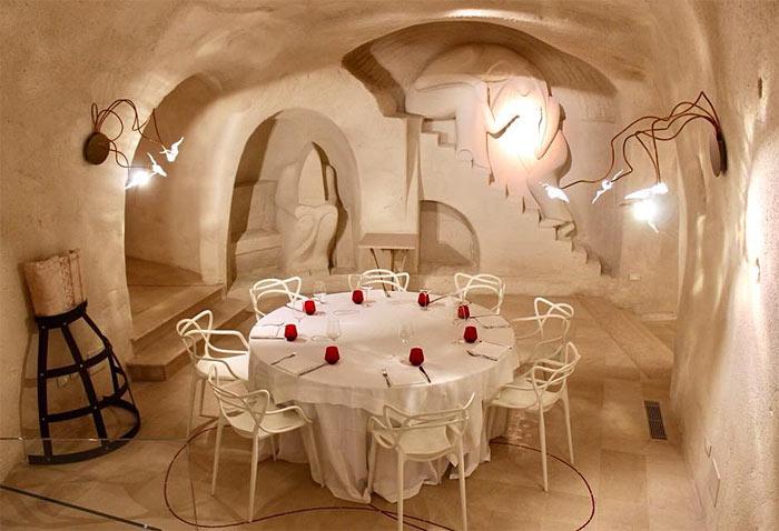 Sala interna ristorante Dedalo