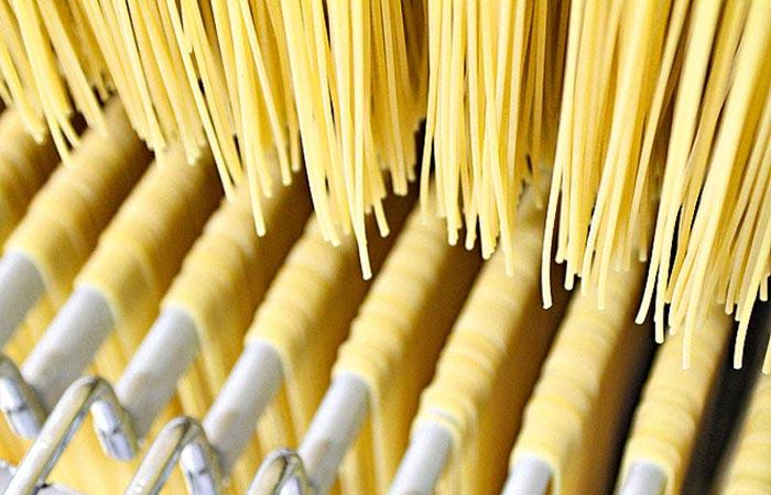 essiccazione spaghetti di Gragnano