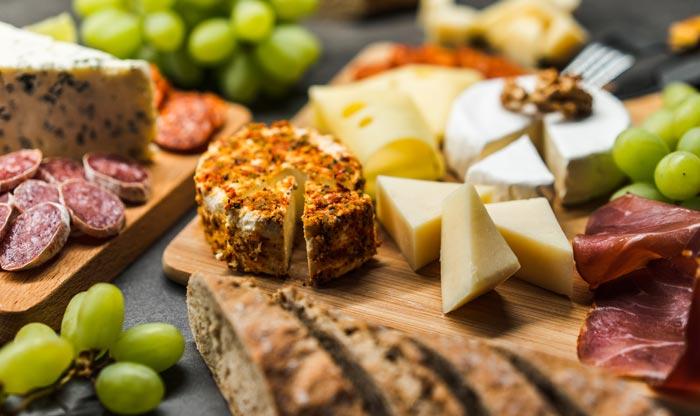 formaggi e grappa