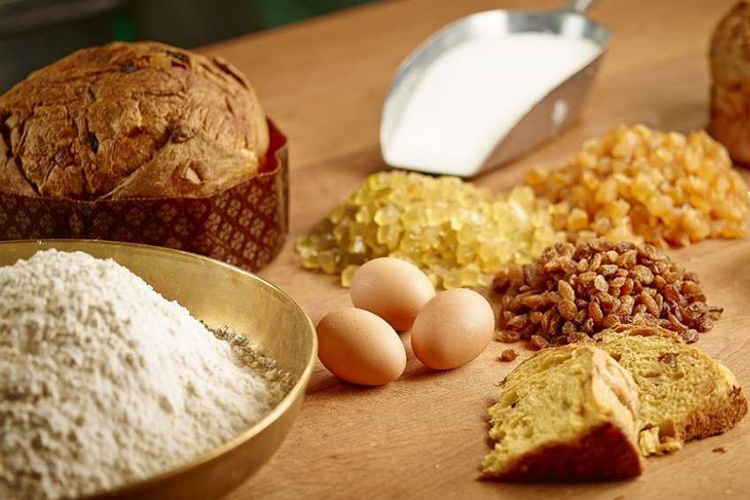 Ingredienti Panettone